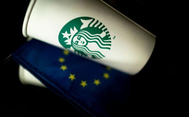 Evropski komisiji ni uspelo dokazati, da so bile ugodnosti za Starbucks na Nizozemskem res nezakonita državna pomoč. FOTO: Kenzo Tribouillard/AFP
