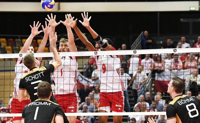 Poljaki so v četrfinalu premagali Nemce. FOTO: Piroschka Van De Wouw/AFP
