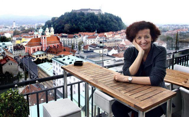 Maja Haderlap, leta 2011 dobitnica prestižne nagrade Ingeborg Bachmann. FOTO: Aleš Černivec/Delo
