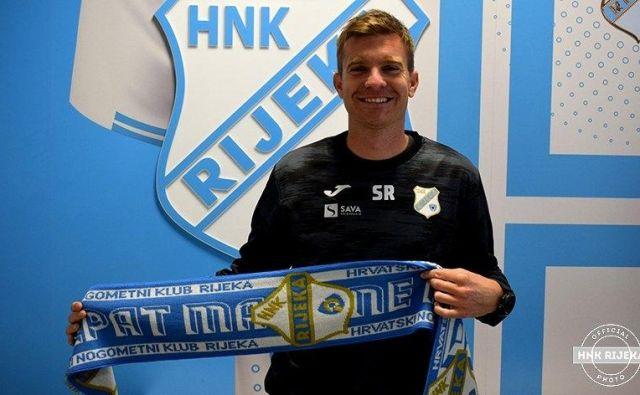 Simon Rožman bo enega od največjih hrvaških klubov prvič vodil na jutrišnji pokalni tekmi v Bujah. FOTO: HNK Rijeka