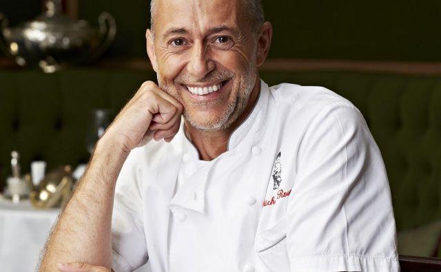 Michel Roux se je soočil s prekletstvom potomcev kuharjev in posodobil kuharski slog očeta Alberta. Foto Le Gavroche