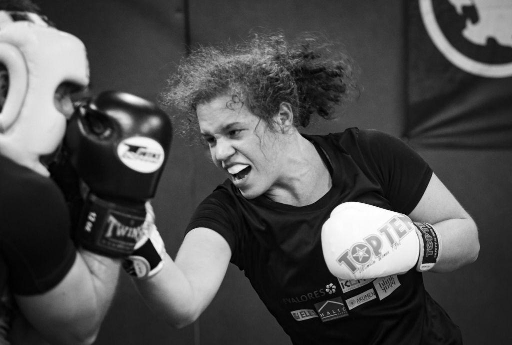 FOTO:V ringu z Emo Kozin. Princeske ni več