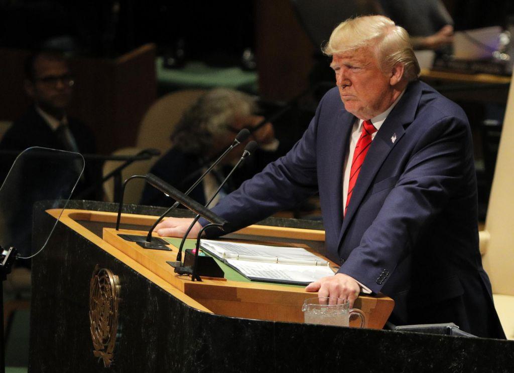 FOTO:Trumpova vizija sveta na tapeti Združenih narodov
