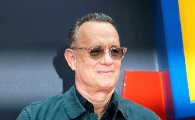 Tom Hanks bo na podelitvi zlatih globusov dobil nagrado Cecil B. DeMille. FOTO: Simon Dawson/Reuters