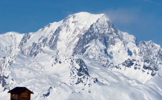 Mont Blanc s francoske strani. Foto Charles Platiau/Reuters
