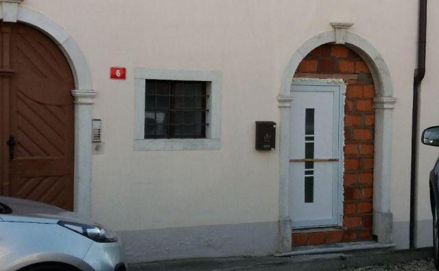 Nova vrata na ulici Agrarne reforme v Kopru.