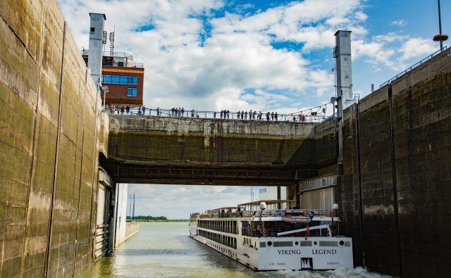 Jez v Gabčíkovu je eden od dvainšestdesetih jezov na Donavi. Foto: Shutterstock