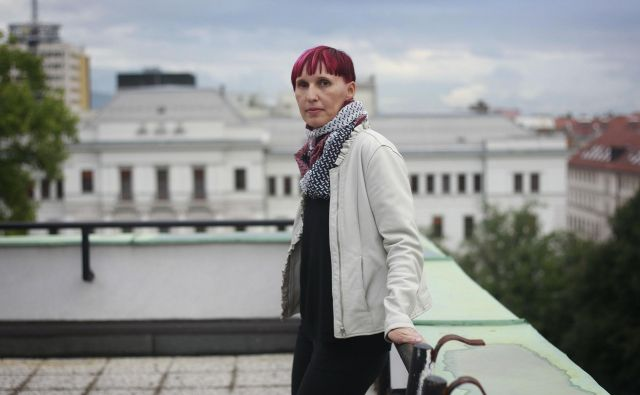 Petra Lesjak Tušek bo še en mandat na čelu DNS. FOTO: Leon Vidic/Delo