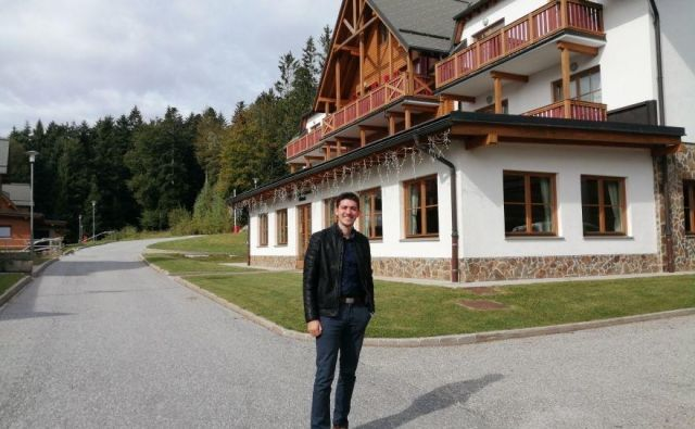 Mladi podjetnik si želi na Pohorju ponuditi »nekaj več«.<br /> Foto Mariborinfo