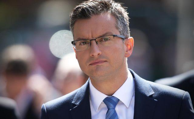 Predsednik slovenske vlade Marjan Šarec. FOTO: Jure Eržen/delo