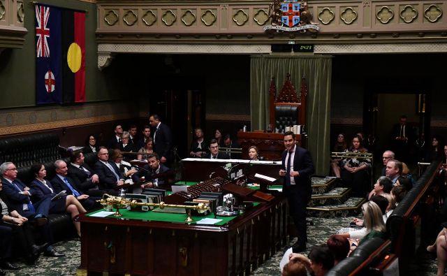 Spodnji dom parlamenta v Novem Južnem Walesu je sprejel zakon, ki bo prekinitev nosečnosti omogočil do 22. tedna. FOTO: Reuters