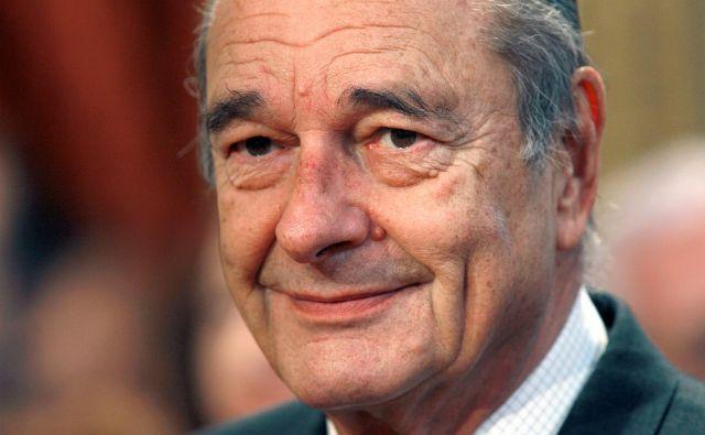 Jacquesa Chiraca, ki je odšel včeraj pri častitljivih 86 letih, si bodo Francozi in svet zapomnili kot izjemno politično osebnost francoske Pete republike in časa, ki izginja: Foto: Philippe Wojazer Reuters