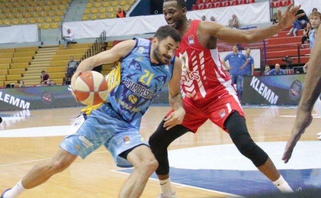Marko Jagodić-Kuridža je na tekmi proti Crveni zvezdi za Koper prispeval 18 točk. FOTO: ABA