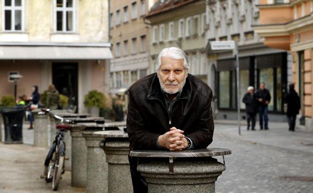 Boris Cavazza, je letos dopolnil 80 let in njegova žena Ksenija zanj pravi, da je kot velik hrast, ki daje moč. FOTO: Matej Družnik