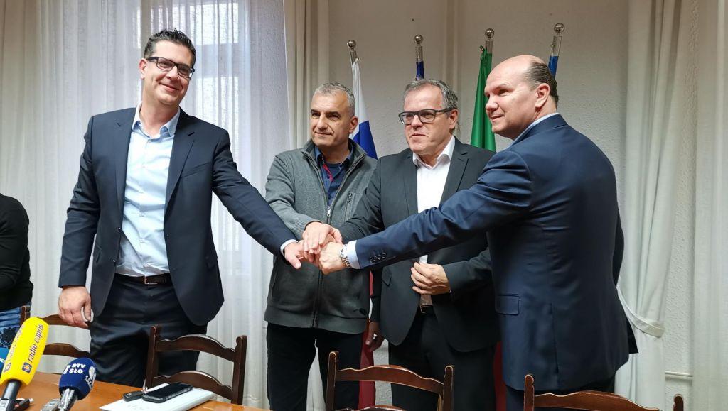 FOTO:Župan Aleš Bržan: Ni krize. Delamo naprej!