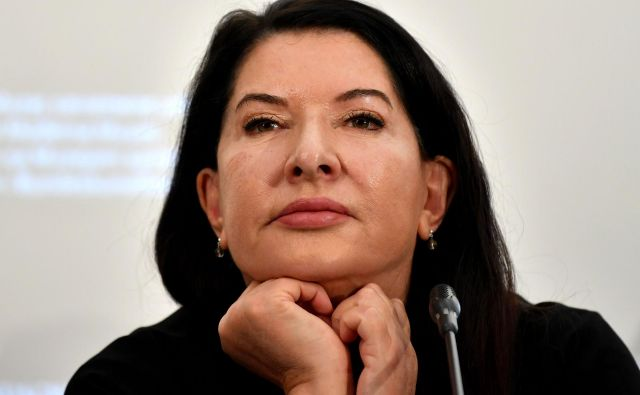 Marina Abramović FOTO: Andrej Isaković/AFP