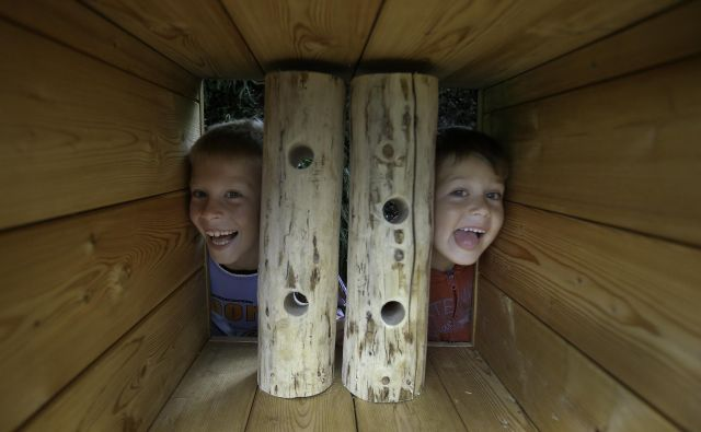 Polhov doživljajski park v polhograjski Blagajevi deželi je sofinanciran z evropskimi sredstvi. Foto Jože Suhadolnik