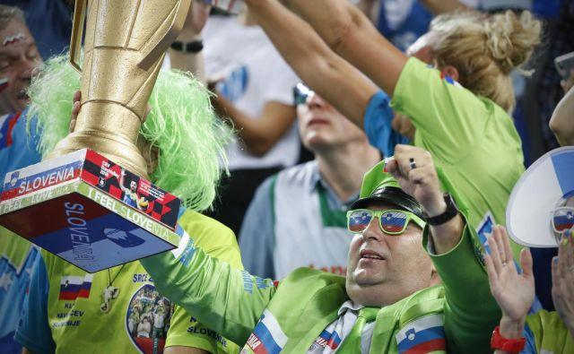 Slovenski navijači ne bodo manjkali v Parizu. FOTO: Uroš Hočevar/Delo