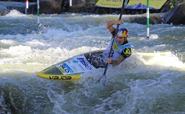 Peter Kauzer ni v kvalifikacijah ničesar prepustil naključju. FOTO: Nina Jelenc/KZS