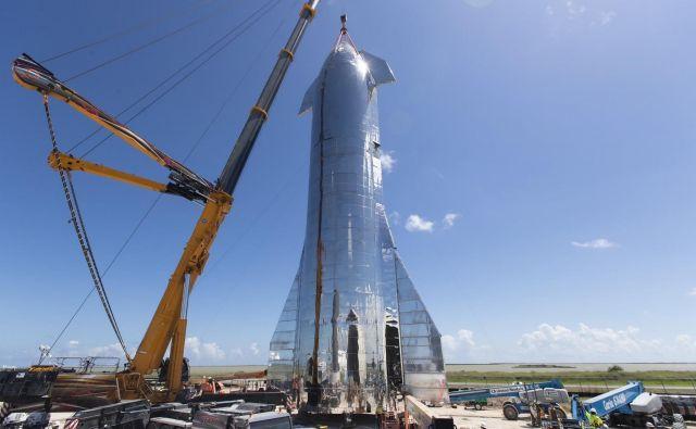 Prototip Starship Mk1 FOTO: Elon Musk/Spacex