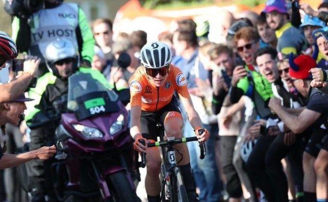 Epska zmaga Nizozemke Van Vleutenove. Foto Getty Images