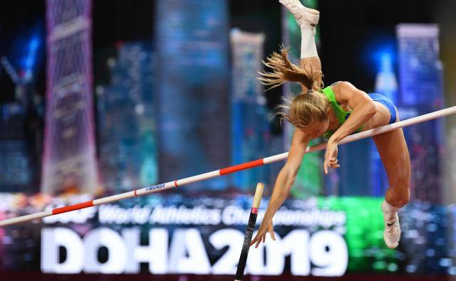 Tina Šutej je v finalu SP pričakovala več kot 13. mesto. FOTO: Reuters