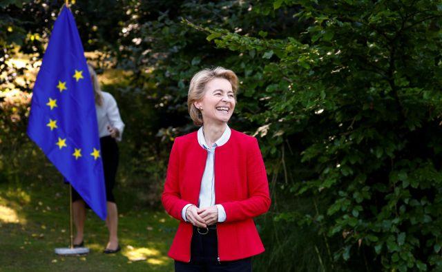 Bo Ursula von der Leyen zahtevala od Budimpešte in Bukarešte, naj predlagata nova kandidata? FOTO: François Lenoir/Reuters