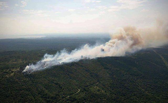 Požar je izbruhnil 21. avgusta. Foto Pgd Materija