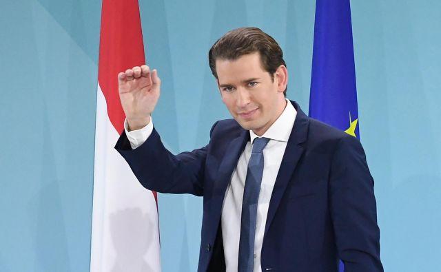 Na volitvah v Avstriji je prepričljivo zmagalaljudska stranka Sebastiana Kurza. Foto: Joe Klamar/Afp