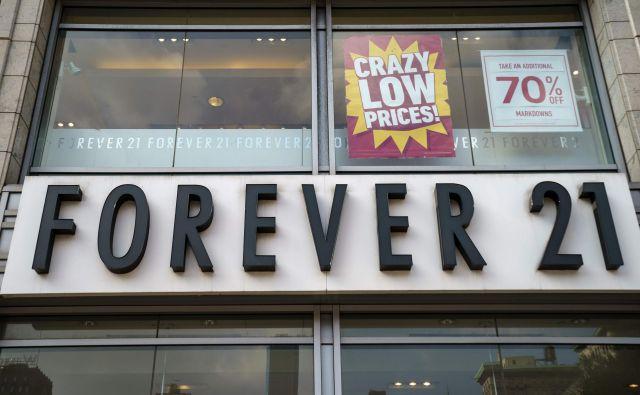 Bankrot grozi družbi zaradi zaostrovanja konkurence pri spletni prodaji. FOTO: Drew Angerer/AFP