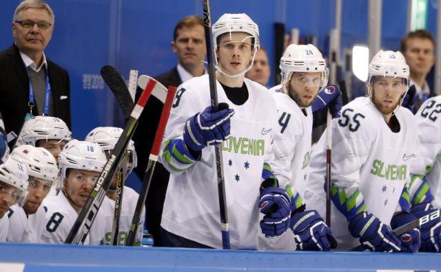 Slovenska hokejska reprezentance se je nazadnje s svetovno elito merila na olimpijskem turnirju v Pjongčangu. FOTO: Matej Družnik/Delo