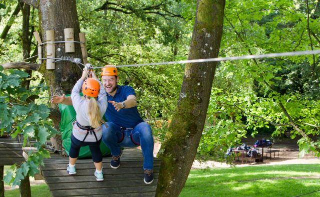 Vikend za oddih, smeh in vriskanje Foto: Terme Krka