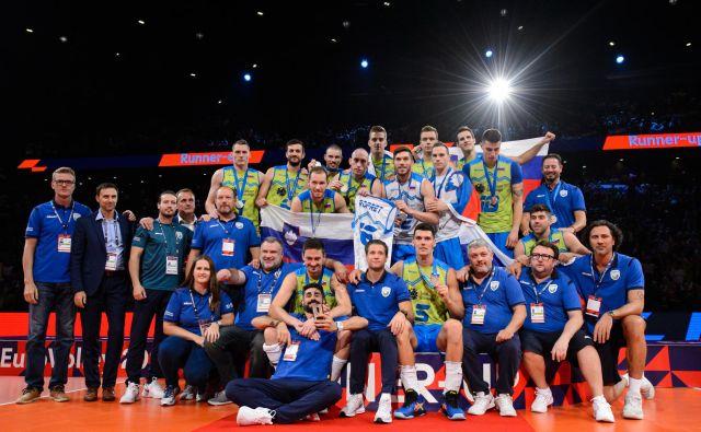 Slovenska odbojkarska reprezentanca se bo na kvalifikacijskem turnirju za nastop na poletnih olimpijskih igrah prihodnje leto v Tokiu pomerila z Nemčijo, Češko in Belgijo. Turnir bo med 5. in 10. januarjem 2020 v Berlinu. FOTO: CEV