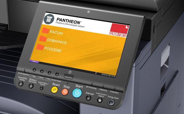 Obstoječa večopravilna naprava lahko postane zajemna postaja za vhodne dokumente. FOTO: Kyocera