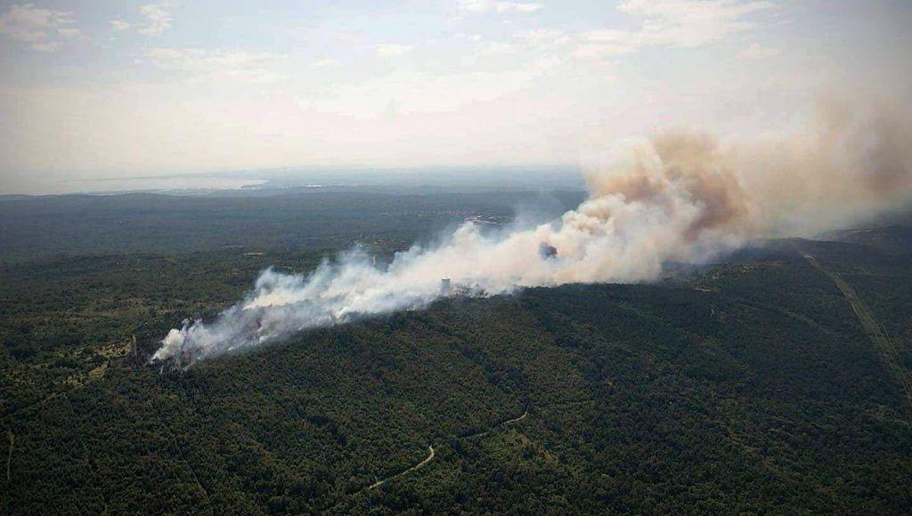 FOTO:Vzrok požara na Cerju nepojasnjen