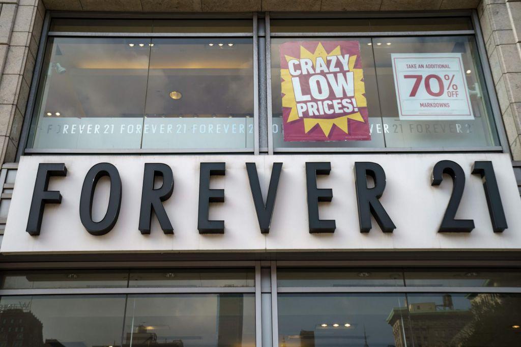 Tudi Forever 21 v težavah zaradi spletne prodaje