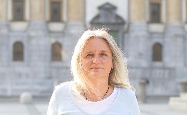 Poznavalka šamanizma in ajavaske (<em>ayahuasca</em>), Ljubljana, 11. 9. 2019. FOTO: Voranc Vogel