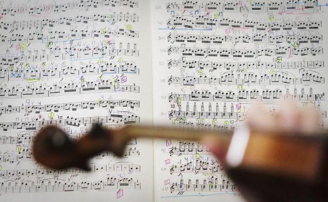 Štirinajstletni Wolfgang Amadeus Mozart naj bi namreč med obiskom Sikstinske kapele ob sredinem obredu slišal tudi Allegrijev <em>Miserere</em>. Še isti dan ga je po spominu zapisal na papir. FOTO: Jože Suhadolnik