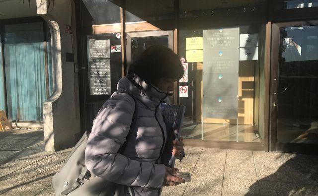 Franka Kovačič obtožbe zanika. FOTO: Moni Černe