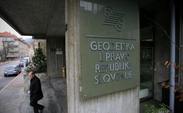 Danes je zaživel portal množičnega vrednotenja nepremičnin, ki ga pripravlja Geodetska uprava Slovenije. Foto: Uroš Hočevar/Delo