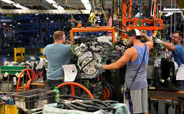 Proizvodnja avtomobilov v tovarni podjetja General Motors v Spring Hillu, Tennessee. FOTO:Harrison McClary/Reuters