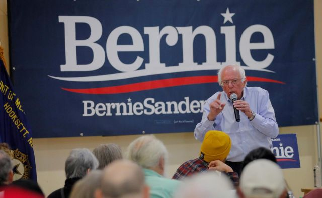 78-letni demokrat je leta 2016 izgubil bitko za predsedniško nominacijo Demokratske stranke proti Hillary Clinton. FOTO: Brian Snyder/Reuters