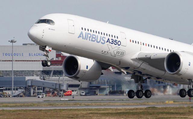 Airbus A350. FOTO: Regis Duvignau/Reuters