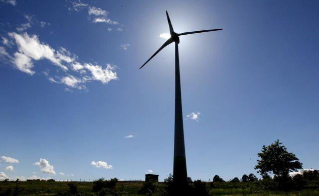 Zeleni načrt za Evropo pomeni tudi več novih vetrnih elektrarn - bomo še katero zgradili tudi pri nas? Foto Tomi Lombar/delo