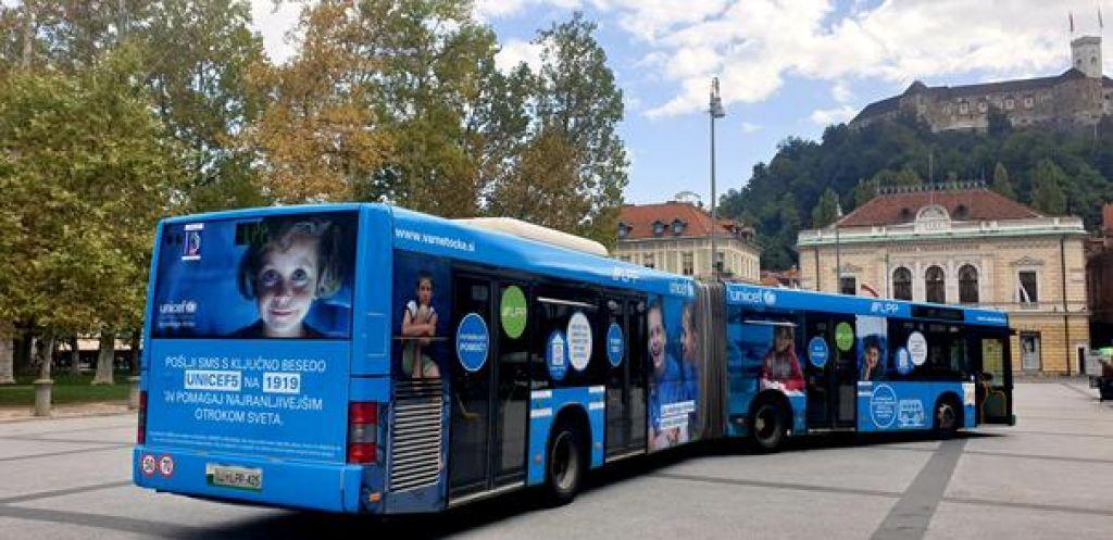 Varna točka na mestnem avtobusu