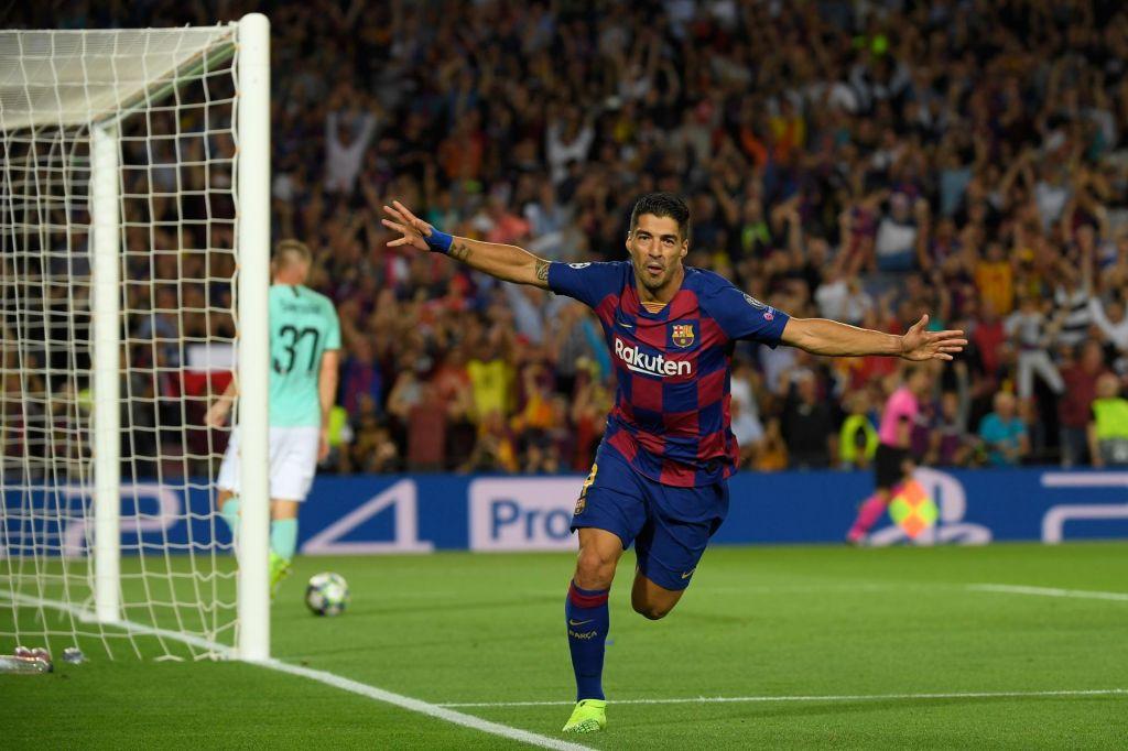 FOTO:Messijeva čarovnija za Suarezov ugriz
