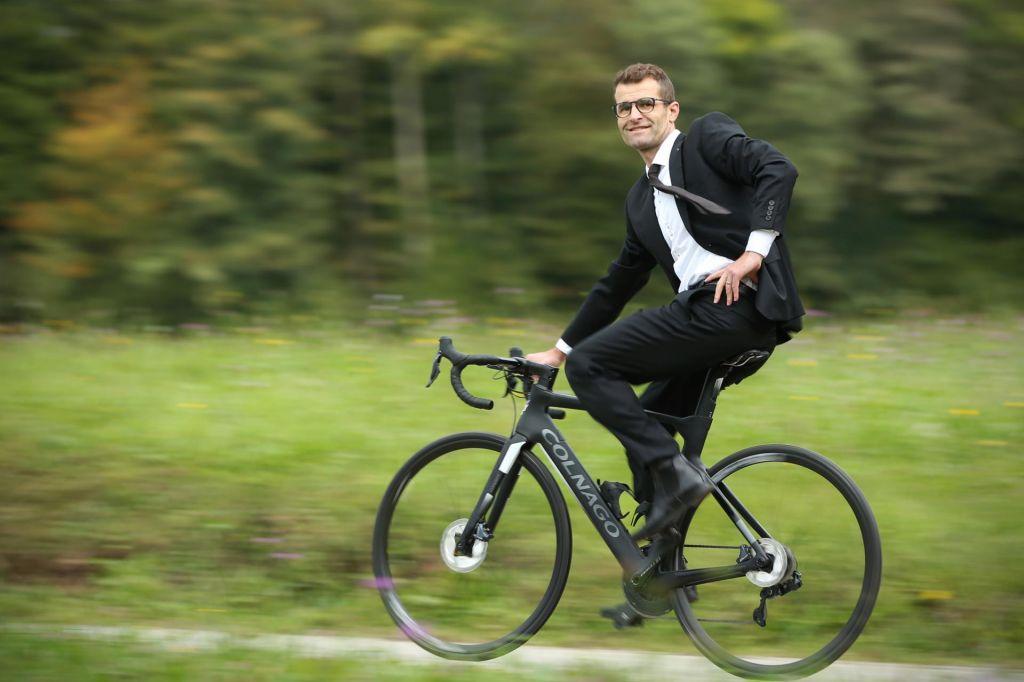 »Tudi ko je bilo najhuje, sem razmišljal o kolesu«