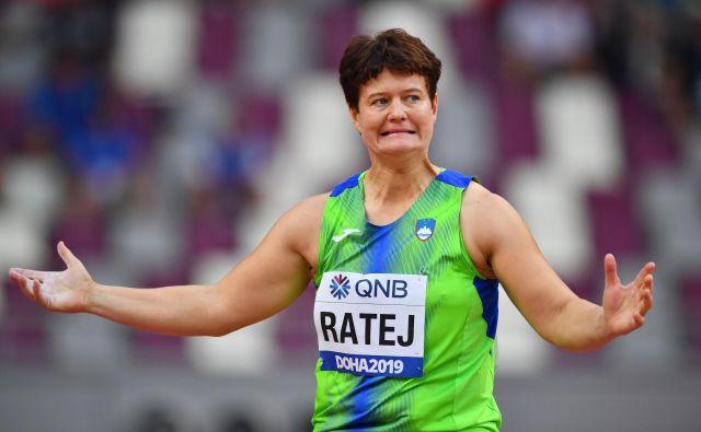 Martina Ratej si želi spet doživeti občutke, ko kopje leti prek 64, 65 metrov. FOTO: Reuters