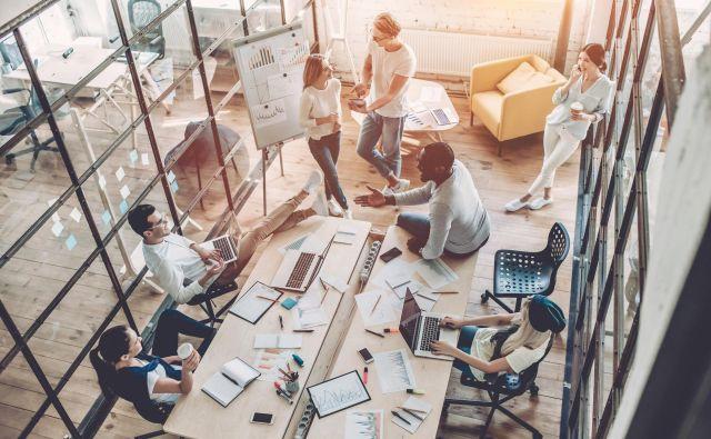 Koncept kvalitete bivanja naj se upošteva tudi pri postavljanju poslovnih prostorov. Foto Shutterstock