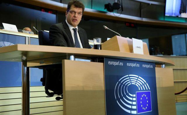 Janez Lenarčič je v evropskem parlamentu dobil široko podporo FOTO: Francois Walschaerts/Reuters